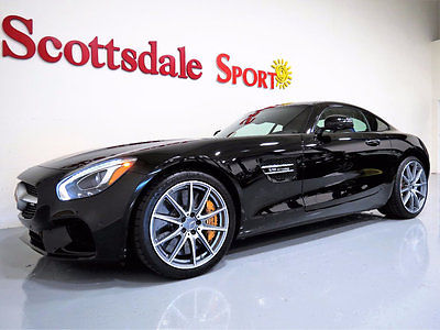 2016 Mercedes-Benz AMG GT-S - ONLY 1K MILES,CERAMIC BRAKES,CALIPERS,BURMESTER AU 16 MBZ GT-S AMG w 1K Mi, BLACK, CERAMIC BRAKES, CALIPERS, BURMESTER AUDIO