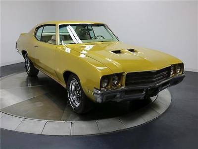1971 Buick GS -- 350 Cubic Inch Motor - Automatic Trans. - Excellent Gold Exterior - Clean Interi