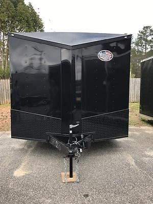 2017 8.5x20 Ft Enclosed Cargo Trailer *Blackout Spread Axle*