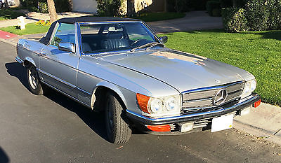 1984 Mercedes-Benz SL-Class 2 Door Convertible 1984 Mercedes 280SL Convertible 2.8L
