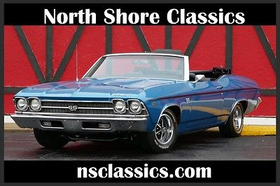 1969 Chevrolet Chevelle -NUMBERS MATCHING BIG BLOCK 396 W/ FACTORY 4SPEED! 1969 Chevrolet Chevelle-NUMBERS MATCHING BIG BLOCK 396 FACTORY 4SPEED!Convertibl