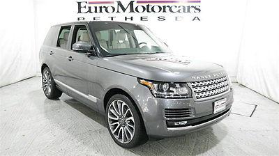 2015 Land Rover Range Rover 4WD 4dr HSE land rover range rover supercharged v6 v8 hse gray 14 15 16 best deal navigation