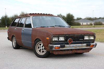 1980 Datsun Other Wagon 1980 Datsun 510 RATSUN Wagon