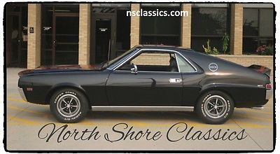 1969 AMC AMX - NUMBERS MATCHING- BLACK ON BLACK-NEW LOW PRICE-S 1969 AMC AMX - NUMBERS MATCHING- BLACK ON BLACK-NEW LOW PRICE-S
