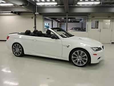 2012 BMW M3 CONVERTIBLE 2012 BMW M3 CONVERTIBLE 34,866 Miles Alpine White Convertible 8 Cylinder Engine