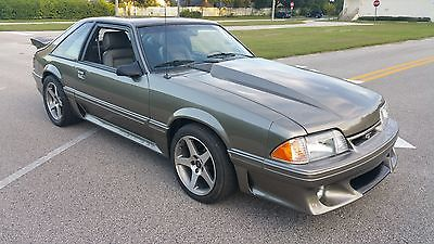 1989 Ford Mustang GT Hatchback 2-Door 1989 Ford Mustang GT Twin Turbo 400HP! ---Video---