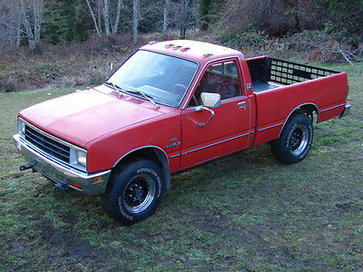1981 Isuzu Other 2 Door Pickup 1981 DIESEL Isuzu Pup 4x4 Pickup Truck W/ NEW
