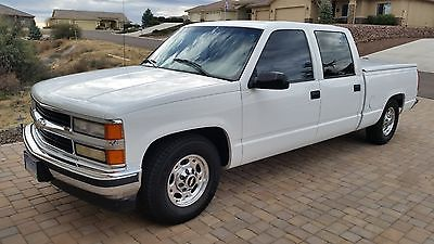 1999 Chevrolet Other Pickups Silverado LOWERED 1999 CHEVROLET CREWCAB SHORTBOX 2WD C2500 3/4 TON 454 BIG BLOCK PICKUP