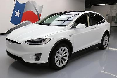 2016 Tesla Model X 2016 TESLA MODEL X 90D AWD 7-PASS AUTOPILOT NAV 20'S 4K #002589 Texas Direct