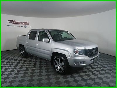 2014 Honda Ridgeline SE 4x4 V6 Crew Cab Truck Navigation Heated Leather 107227 Miles 2014 Honda Ridgeline 4WD Crew Cab Backup Camera Towing Package