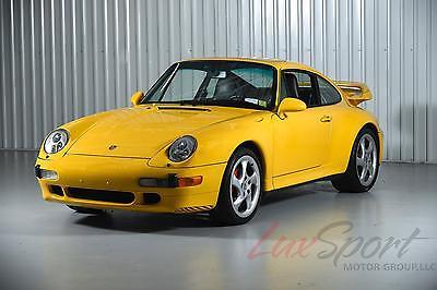 1996 Porsche Carrera GT Carrera 4S 1996 Porsche 993 Carrera 4S Coupe