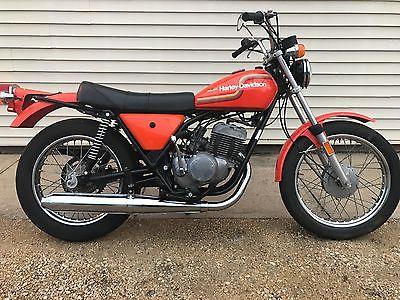 1975 Harley-Davidson SS250  1976 AMF Harley-Davidson SS250 Only 26 Miles Since New