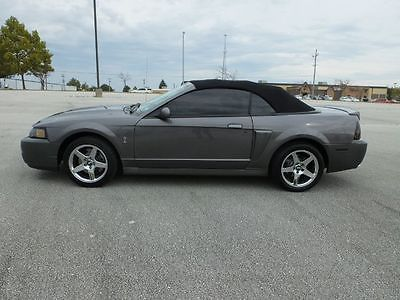 2003 Ford Mustang SVT Cobra Convertible 2-Door Convertible RWD 6-Speed Manual
