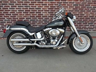 2008 Harley-Davidson Fat Boy -- 2008 Harley-Davidson Fat Boy Black