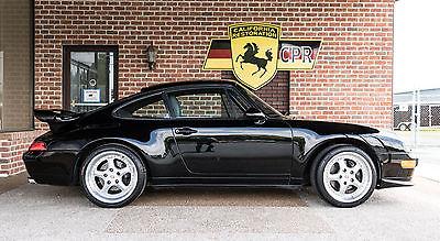 1997 Porsche 911 993 1997 Porsche 993 Black with Grey leather interior, last of the aircooled Porsche