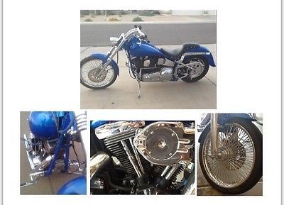 1990 Harley-Davidson Softail  1990 HD Custom Softail