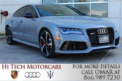 2014 Audi RS7  2014 AUDI RS7 Twin Turbo Premium V-8 4.0 Automatic AWD Leather !!!!