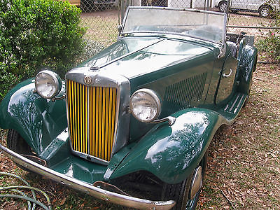 1952 MG T-Series TD-Series 1952 MG TD Roadster with solid floors, rust free body. Garaged. BEST OFFER WINS