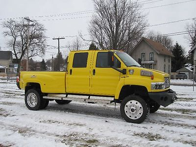 2006 Chevrolet Other Pickups C4500 4X4 CREW MONROE CONVERSION 2006 chevy 4 x 4 kodiak c 4500 crew cab 4 x 4 monroe conversion duramax diesel 55 k