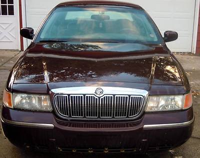 2002 Mercury Grand Marquis LS Sedan 4-Door 2002 Mercury Grand Marquis LS 4 Door