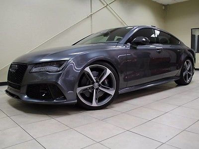 2014 Audi RS7  1 OWNER CLEAN CARFAX, HIGHLY OPTIONED, RS7 , FINANCING AVAILABLE OAC. MUST SEE