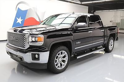 2014 GMC Sierra 1500 SLT Crew Cab Pickup 4-Door 2014 GMC SIERRA TEXAS CREW SLT 4X4 SUNROOF NAV 20'S 49K #518269 Texas Direct