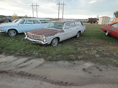 1967 Ford Other 6 Passenger station wagon 1967 Ford Galaxie Ranch Wagon Station Wagon Complete Rust Free Project