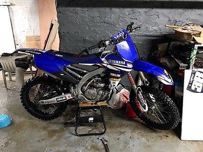 2014 Yamaha YZF-R Yamaha 450YZF 450 2014