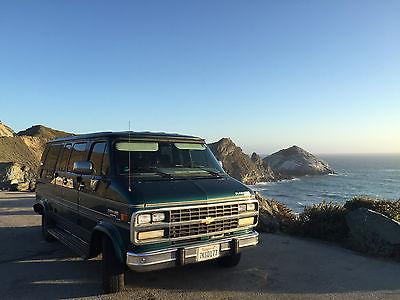 1995 Chevrolet G20 Van Chevy Van Extended Cargo Van 3-Door 1995 Chevrolet G20 Gladiator Chevy Van Extended Cargo Conversion Van 5.7L