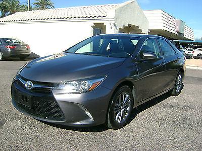 2016 Toyota Camry Se 2016 TOYOTA CAMRY SE - FULL FACTORY WARRANTY - 2.49% OAC!