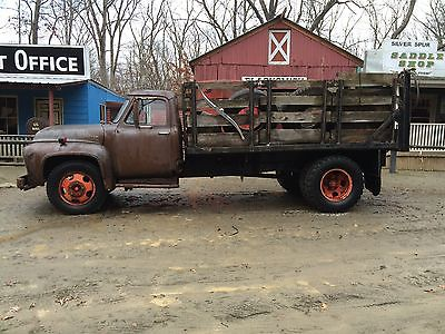 1953 Ford Other Pickups  1953 f600 winch truck