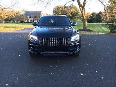 2012 Audi Q5 3.2 Quattro Premium Plus 2012 audi q5 S-line