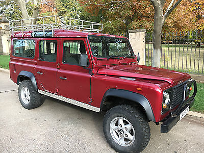 1991 Land Rover Defender County 1991 Land Rover Defender 110 200tdi County *Solid*