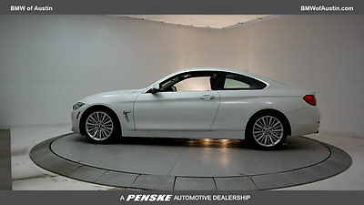 2014 BMW 4-Series 428i 428i 4 Series Low Miles 2 dr Coupe Gasoline 2.0L 4 Cyl Alpine White