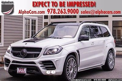 2014 Mercedes-Benz GL-Class Mansory Custom AMG Carbon Fiber Wide-Body Financing & Trades