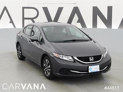 2014 Honda Civic Civic EX Dk. Gray 2014 CIVIC with 24151 Miles for sale at Carvana