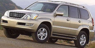 2004 Lexus GX Base Sport Utility 4-Door 2003 Lexus GX 470 Leather 3rd Row 4x4 Automatic 4-Door