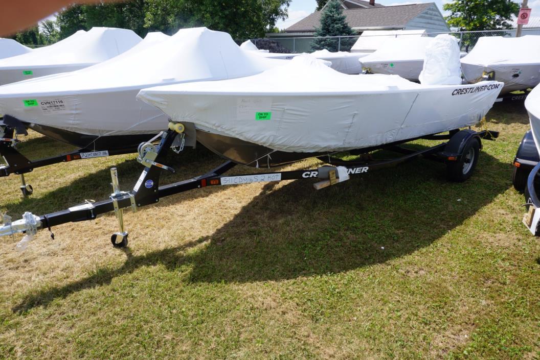 2016 Crestliner 1650 Discovery SC