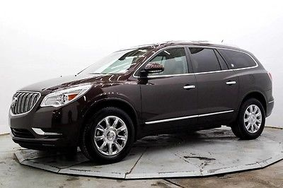 2015 Buick Enclave Premium AWD Premium AWD 3rd Row Nav Lthr Htd & AC Seats Moonroof Bose 13K Must See Save