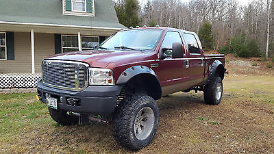 2006 Ford F-350 Lariat Crew Cab Pickup 4-Door 2006 Ford F-350 Super Duty Lariat Crew Cab Pickup 4-Door 6.0L LIFTED