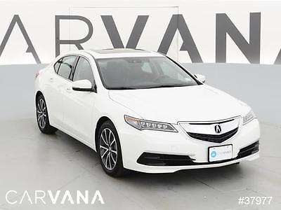 2015 Acura TLX TLX SH-AWD V6 w/Tech WHITE 2015 TLX with 10613 Miles for sale at Carvana