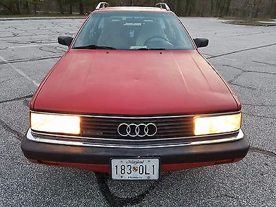 1987 Audi Other audi 5000 cs Avant Turbo Quattro 5spd