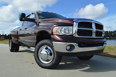 2005 Dodge Ram 3500 SLT 2005 Dodge Ram 3500 Quad Cab SLT 5.9L Cummins Diesel 4x4 Clean Well Kept!