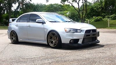 2008 Mitsubishi Lancer Evolution MR Sedan 4-Door 2008 Mitsubishi Lancer Evolution MR Sedan 4-Door 2.0L