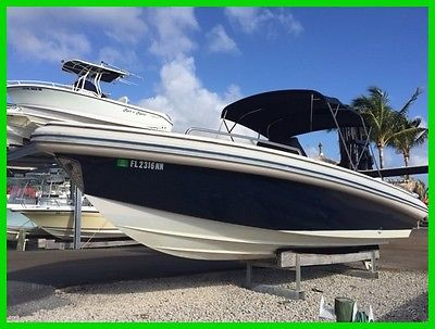 Novurania 31 Chase Tender DIESEL w NEW upholstery and electronics SUPER SHARP