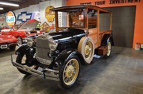1929 Ford Model A -- 1929 Ford Model A  1 Black