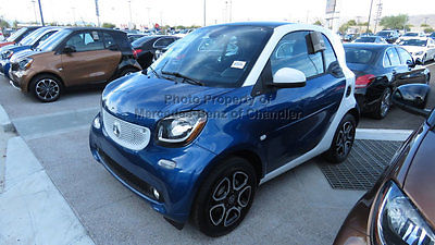 2016 smart Fortwo 2dr Coupe Prime 2dr Coupe Prime New Manual Gasoline 1.0L 3 Cyl Midnight Blue (metallic)