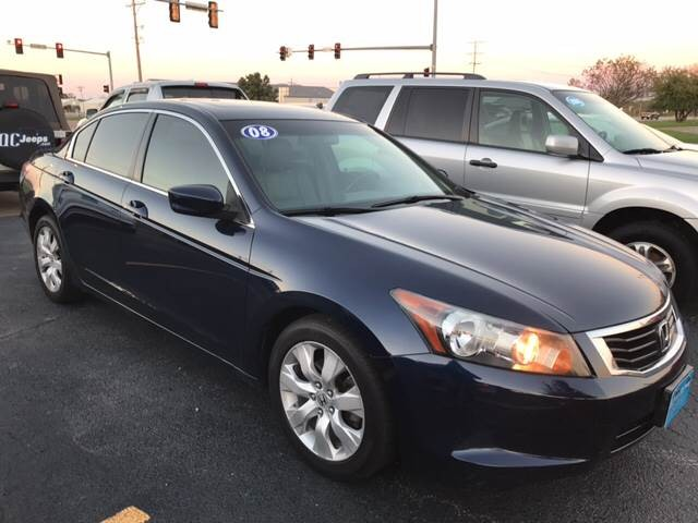 2008 Honda Accord EX-L w/Navi 4dr Sedan 5A w/Navi