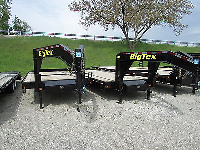 BIG TEX 25' GOOSENECK FLATBED TRAILER * ON SALE NOW* BEST DEALS @ DR TRAILER