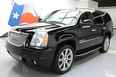 2013 GMC Yukon  2013 GMC YUKON DENALI SUNROOF NAV DVD REAR CAM 20'S 57K #169317 Texas Direct